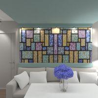 floorplans apartamento mobílias quarto iluminação despensa 3d
