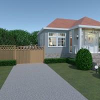 floorplans appartamento casa veranda bagno camera da letto garage cucina studio illuminazione 3d