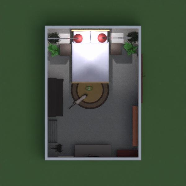 floorplans meble wystrój wnętrz zrób to sam sypialnia oświetlenie 3d