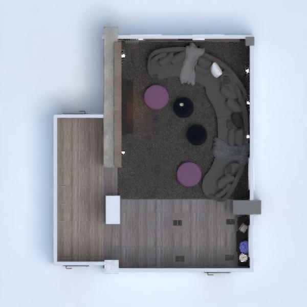 floorplans wohnung haus mobiliar dekor wohnzimmer beleuchtung renovierung architektur lagerraum, abstellraum 3d