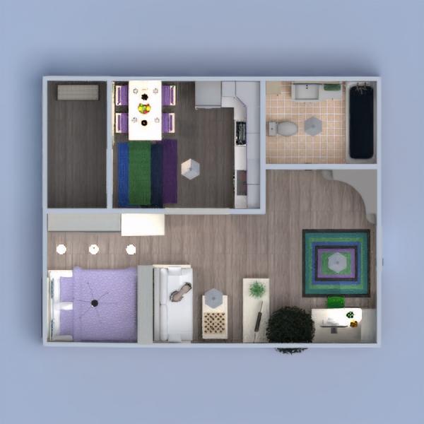 floorplans appartamento decorazioni 3d