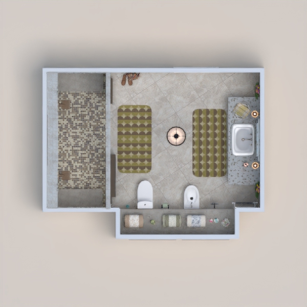floorplans furniture decor bathroom lighting architecture 3d