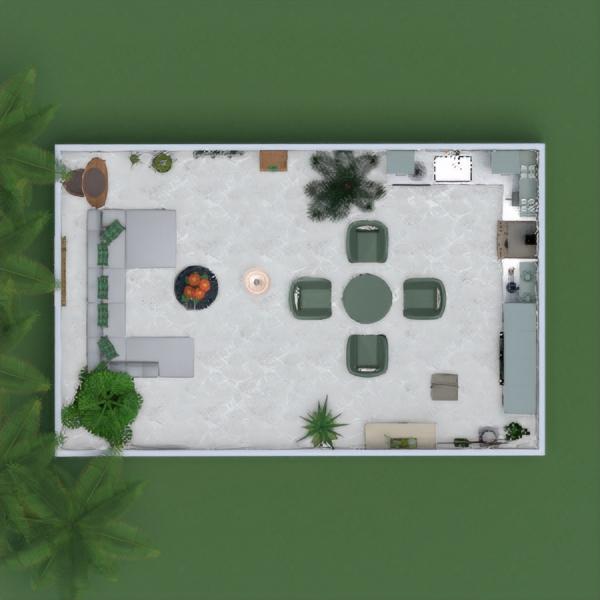 floorplans decoração quarto cozinha iluminação 3d