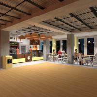 floorplans terraza muebles decoración bricolaje exterior despacho iluminación reforma cafetería comedor arquitectura trastero estudio 3d