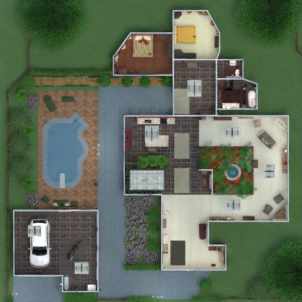 floorplans casa mobílias decoração faça você mesmo casa de banho dormitório quarto garagem cozinha área externa iluminação paisagismo utensílios domésticos sala de jantar arquitetura despensa patamar 3d