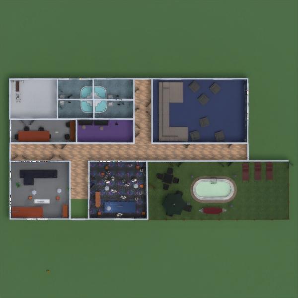 floorplans дом терраса мебель декор ландшафтный дизайн 3d