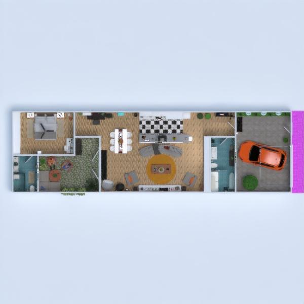 floorplans casa decorazioni angolo fai-da-te camera da letto cucina illuminazione architettura vano scale 3d