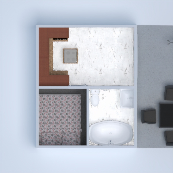 floorplans apartment terrace decor bathroom bedroom 3d