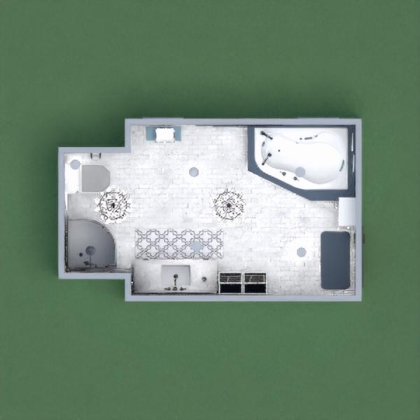 floorplans badezimmer beleuchtung 3d