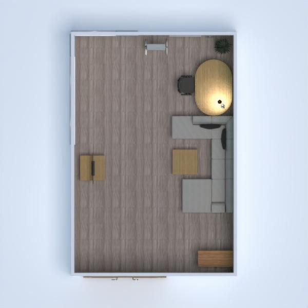 floorplans escritório iluminação reforma 3d