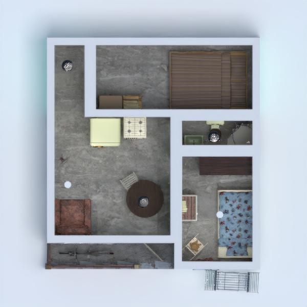 floorplans casa habitación infantil 3d