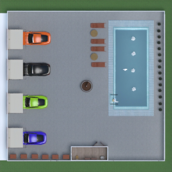 floorplans dom zrób to sam garaż architektura 3d