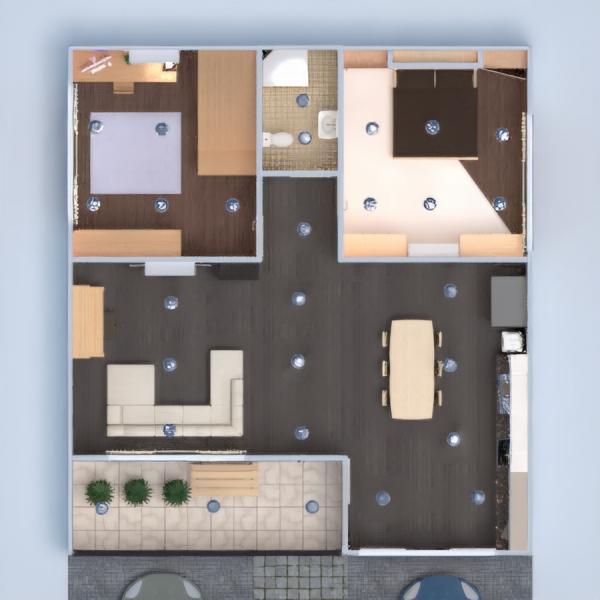 floorplans casa terraza muebles decoración bricolaje cuarto de baño dormitorio salón garaje cocina habitación infantil iluminación reforma hogar comedor arquitectura 3d