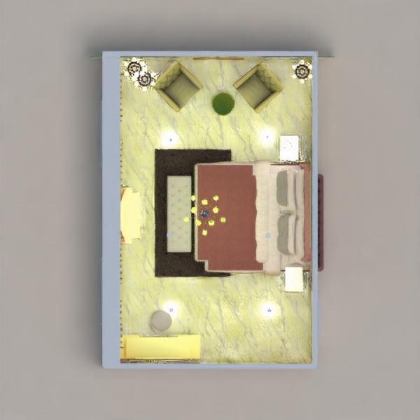 floorplans wohnung haus mobiliar dekor schlafzimmer 3d