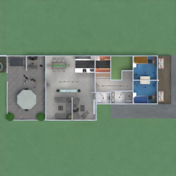 floorplans apartamento casa varanda inferior mobílias decoração casa de banho dormitório quarto garagem cozinha área externa quarto infantil iluminação paisagismo sala de jantar arquitetura patamar 3d