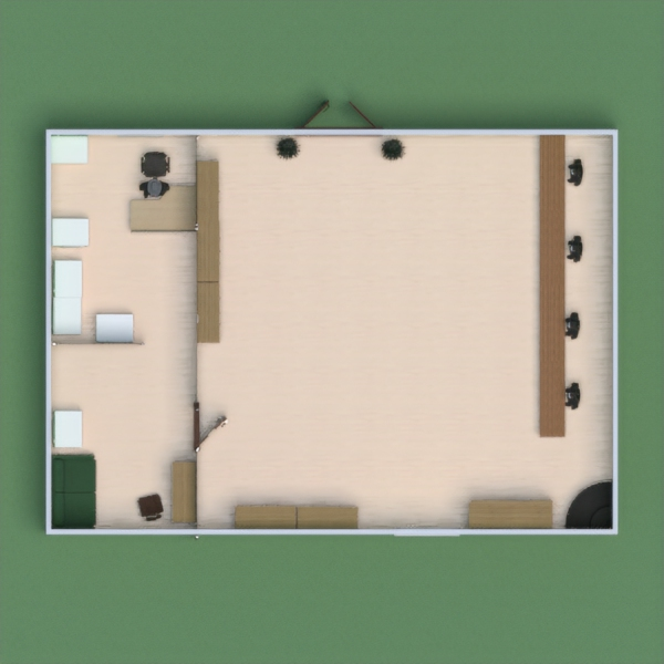 floorplans décoration salle à manger 3d