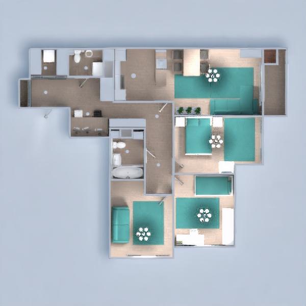 floorplans apartamento mobílias decoração faça você mesmo 3d