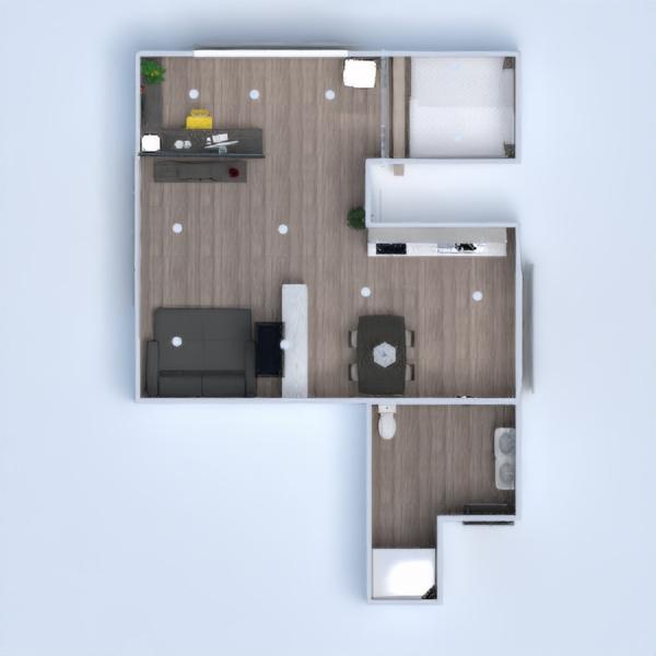 floorplans appartamento angolo fai-da-te bagno camera da letto saggiorno cucina studio illuminazione sala pranzo 3d