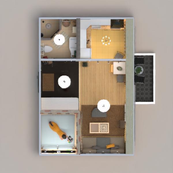 floorplans appartamento decorazioni angolo fai-da-te bagno camera da letto saggiorno cucina rinnovo ripostiglio monolocale vano scale 3d