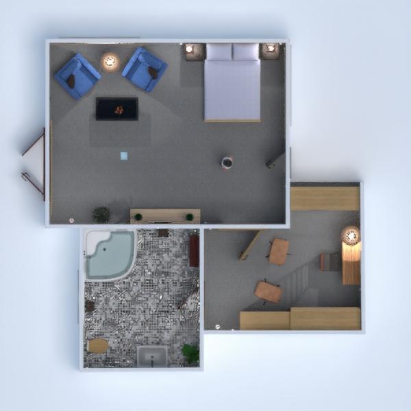 progetti casa bagno camera da letto architettura 3d