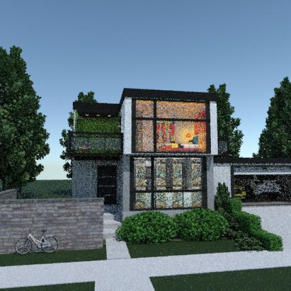 floorplans house terrace furniture 3d