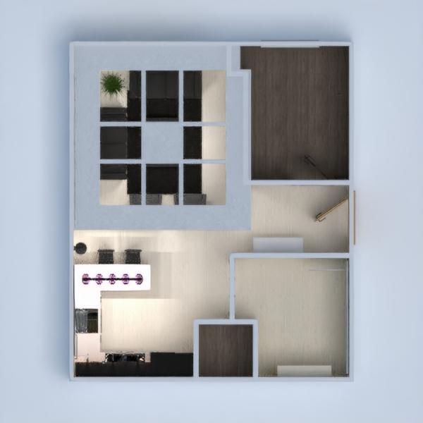floorplans appartamento arredamento saggiorno cucina architettura ripostiglio 3d