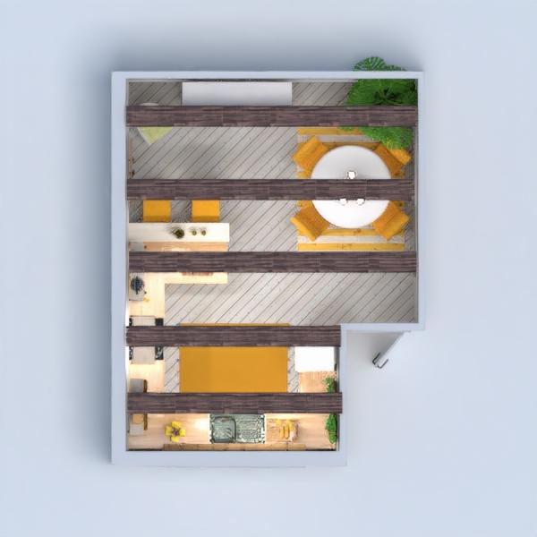 floorplans furniture decor kitchen lighting dining room 3d