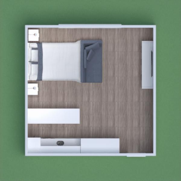 floorplans baldai miegamasis studija 3d