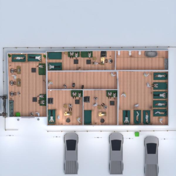 планировки офис 3d