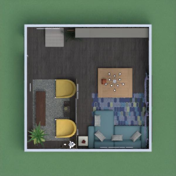 floorplans butas namas svetainė prieškambaris 3d