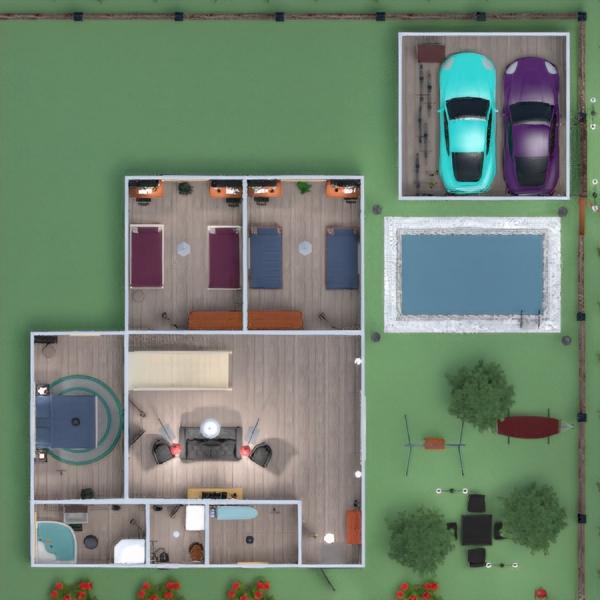 floorplans дом мебель сделай сам ванная спальня 3d