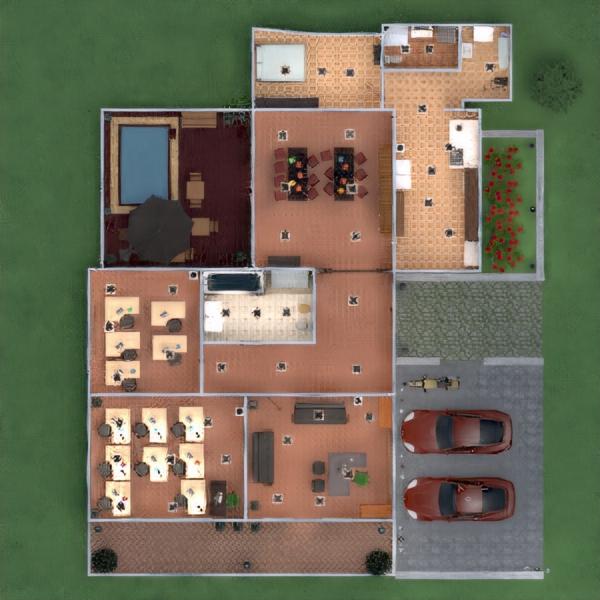 floorplans apartamento mobílias decoração faça você mesmo casa de banho iluminação 3d