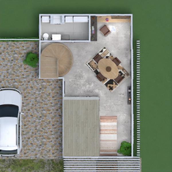 floorplans łazienka sypialnia pokój dzienny kuchnia remont 3d