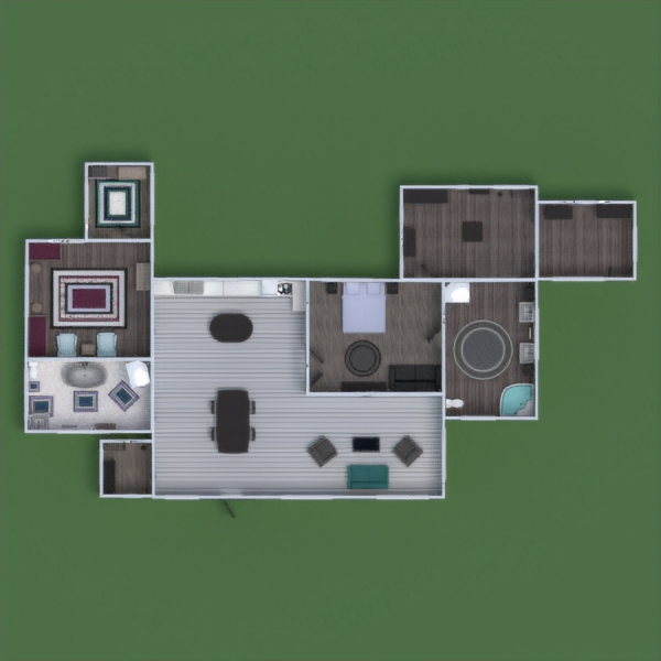 floorplans casa muebles cuarto de baño dormitorio salón cocina habitación infantil reforma comedor 3d