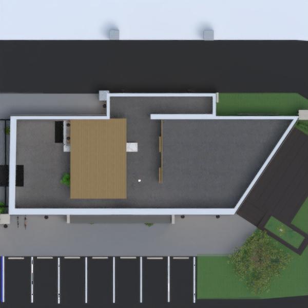 floorplans décoration eclairage café architecture entrée 3d
