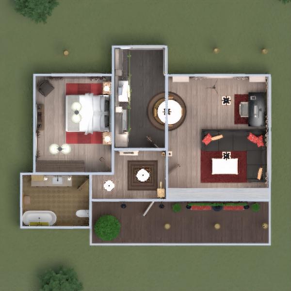 floorplans haus mobiliar dekor do-it-yourself badezimmer schlafzimmer küche outdoor beleuchtung landschaft 3d