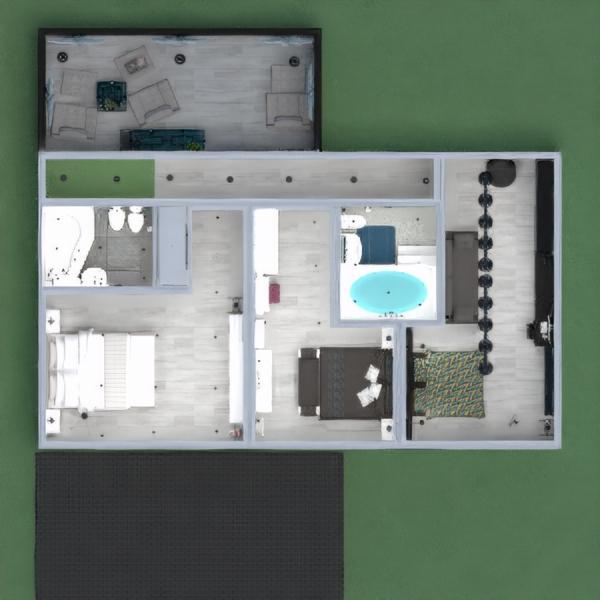 floorplans casa terraza muebles decoración bricolaje cuarto de baño dormitorio salón cocina exterior habitación infantil iluminación reforma hogar comedor trastero descansillo 3d