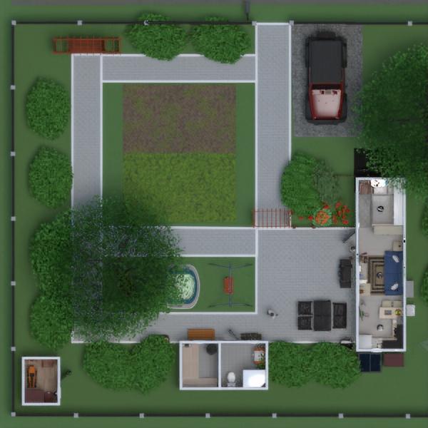 floorplans haus do-it-yourself landschaft 3d