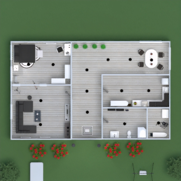 floorplans apartment house furniture decor bathroom bedroom living room kitchen kids room lighting dining room architecture entryway 3d