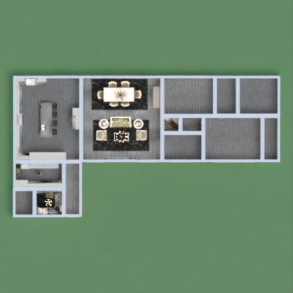 floorplans casa muebles decoración salón cocina 3d
