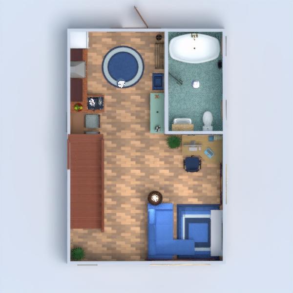 floorplans apartamento casa muebles cuarto de baño salón 3d