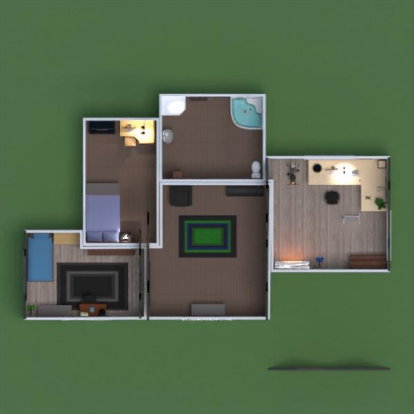 floorplans casa mobílias decoração casa de banho dormitório quarto garagem cozinha área externa escritório iluminação sala de jantar arquitetura patamar 3d