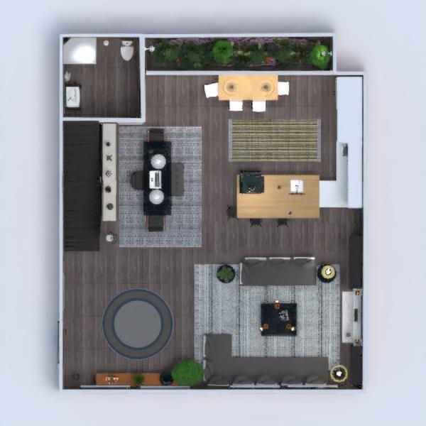 floorplans mieszkanie dom taras meble wystrój wnętrz zrób to sam łazienka sypialnia pokój dzienny kuchnia pokój diecięcy biuro 3d