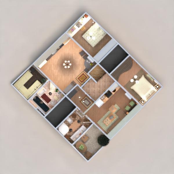 floorplans mieszkanie meble zrób to sam łazienka sypialnia pokój dzienny kuchnia biuro oświetlenie remont gospodarstwo domowe jadalnia przechowywanie mieszkanie typu studio wejście 3d