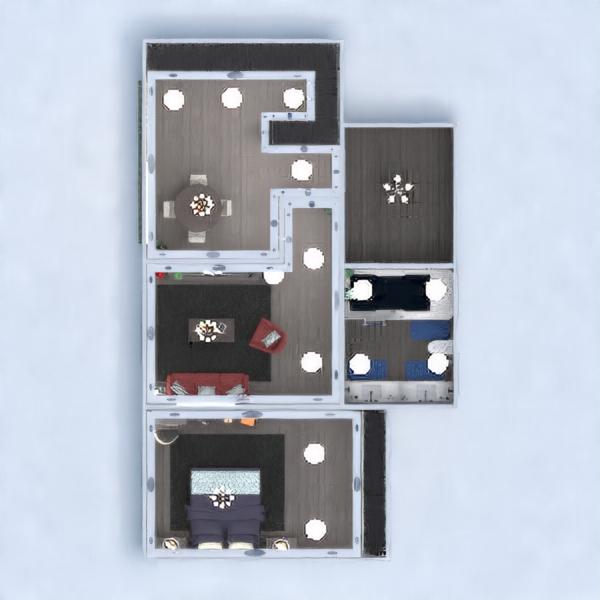 floorplans apartamento mobílias decoração faça você mesmo casa de banho dormitório 3d