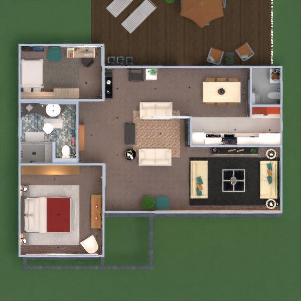 floorplans casa varanda inferior mobílias decoração faça você mesmo casa de banho quarto garagem cozinha área externa escritório iluminação paisagismo utensílios domésticos sala de jantar arquitetura patamar 3d