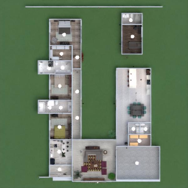 floorplans haus terrasse dekor garage küche landschaft architektur 3d