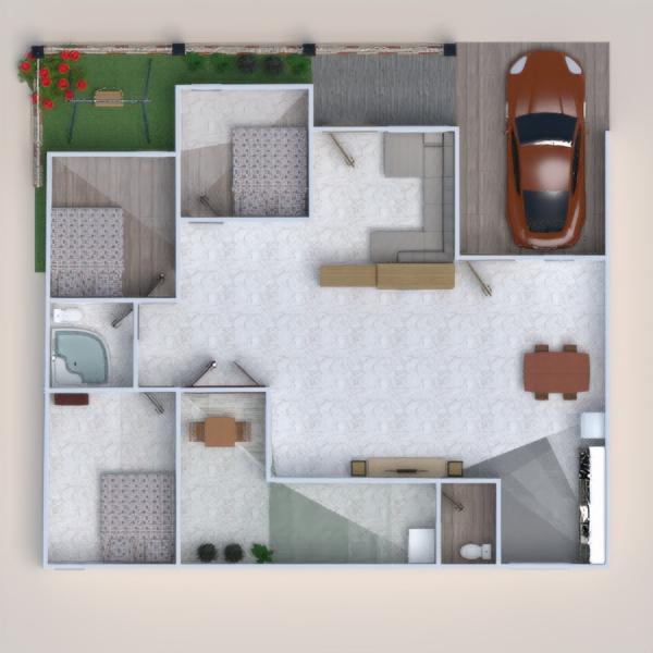 floorplans house diy bedroom garage kitchen 3d
