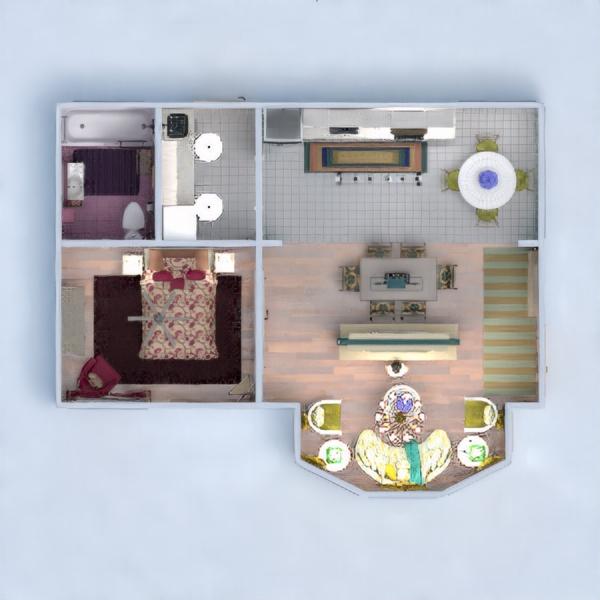 floorplans casa decoración salón 3d