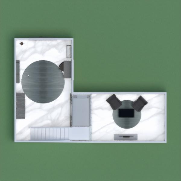 floorplans salon chambre d'enfant bureau 3d